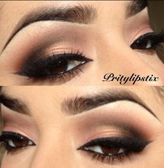 Smokey brown eye