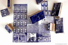 Los Tampographe Sardón: Sellos de goma de Nueva York