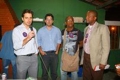 Reunião com Paulo Heráclito e Funcionários da Santa Casa no Clube Boqueirão