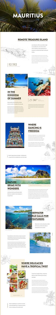 Dribbble - mauritius_full.jpg by Marko Cvijetic