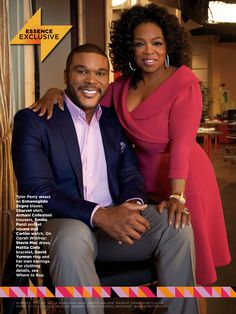 Tyler Perry & Oprah Winfrey