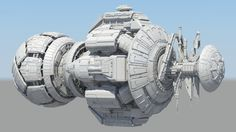 Space Ship , Jumpei Nomura on ArtStation at… Spaceship Art, Spaceship Design, Futuristic Technology, Futuristic Design, Futuristic Vehicles, Concept Ships, Concept Art, Space Station 3d, Sci Fi Anime