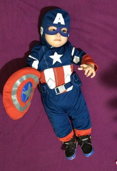 Captain America little captain america baby boy costume halloween costume trick or & Baby Wolverine Costume X-men Comics Cosplay by GrowingUpGeeky on ...