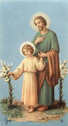 Glorioso San José,   Enamorado y fiel esposo de María,   amante y abnegado Padre de Jesús,   modelo de todos los trabajadores,   que sie...