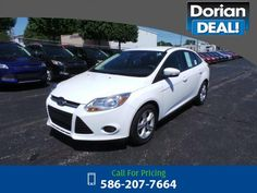 2013 Ford Focus SE 33k miles $11,995 33650 miles 586-207-7664 Transmission: Automatic  #Ford #Focus #used #cars #DorianFord #ClintonTownship #MI #tapcars