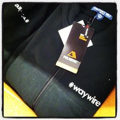 The vests have arrived! We can't wait to rock them. #waywire