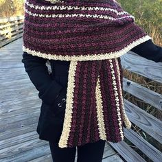 Easy Women's Crochet Wrap, Easy Crochet Shawl Pattern, Chocolate Covered Cherries Wrap, Women's Blanket Scarf Pattern, Warm Winter Wrap Source by deedeemartel Crochet Poncho, Easy Crochet, Crochet Waistcoat, Simply Crochet, Crochet Scarves, Crochet Baby, Baby Poncho, Ombre Yarn, Chocolate Covered Cherries