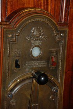 Antique Otis Elevator Bronze Emergency Operation Control