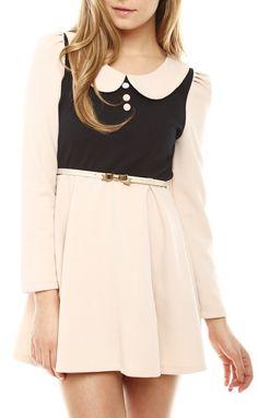 Peter Pan Collar Dress