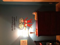 Dr Seuss Nursery ! Thing 1 and Thing 2 decal from etsy !