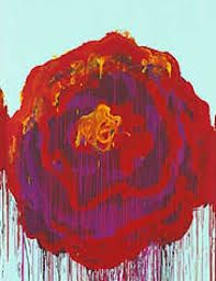 Bright Bleeding Roses: Cy Twombly's 'The Roses' Exhibition at Gagosian Gallery Cy Twombly, Bleeding Rose, Gagosian Gallery, Art Corner, Abstract Watercolor, Abstract Art, Texture Art, Beautiful Paintings, Cool Artwork