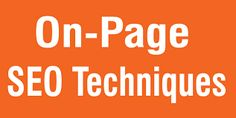 On-Page SEO Methods To Boost Website Rank – Saga Bizsolutions