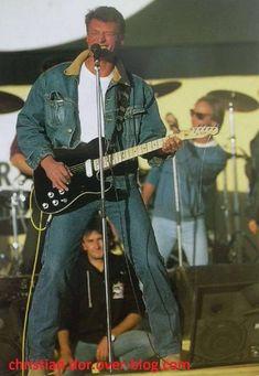 johnny hallyday à la courneuve 1985 johnny hallyday à la courneuve 1985