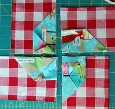 Folded Pinwheel Step 4