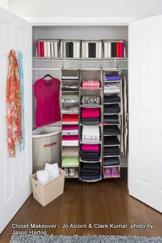 How to make folded clothes look fantastic. With @Pliio Products Products and Neatfreak clothing organizers.