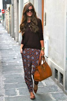 Spring must-have: Printed παντελόνια | Jenny.gr