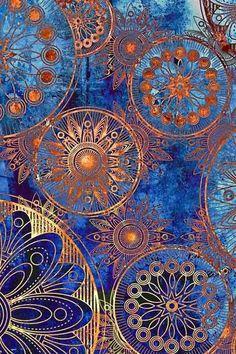 De populairste tags voor deze afbeelding zijn: wallpaper, blue, gold, background en iphone