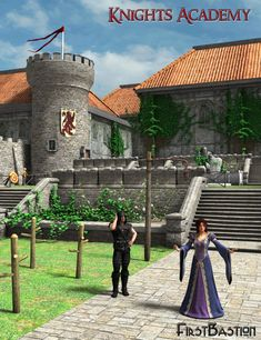 1stBastion's Knights Academy in Vendor, FirstBastion,  3D Models by Daz 3D