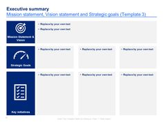 15 Best Simple Strategic Plan Template | By ex-McKinsey Consultants