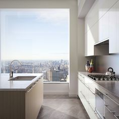 The 432 park avenue sky scraper is situated in new york and it is the tallest residential building of the world. here are some 432 park avenue interiors which you should definitely see! New York Apartment Small, New York Apartments, Apartment Goals, Dream Apartment, Apartment Kitchen, Luxury Apartments, Apartment View, Manhattan Apartment, Penthouse Apartment