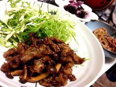 豚ショウガ焼きがムショーに食いたくなり - 75件のもぐもぐ - 豚ショウガ焼き、レンコンの素揚げ、漬けモン by torakichi6