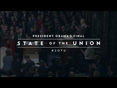 BARACK OBAMA STATE OF THE UNION | by LeStudio1- 2016 https://www.flickr.com/photos/lestudio1/24265131811/in/dateposted/