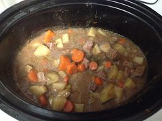 Stick to your ribs Beef Stew  http://www.crazy-good-cooking.com/