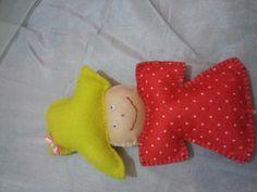 Em clima de festa junina... boneca espantalho...