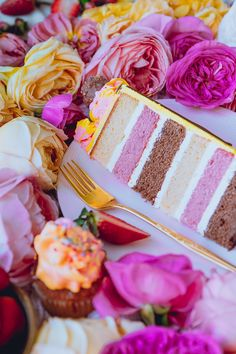 Neapolitan Pound Cake 250 g Cake Flour 230 g Superfine sugar 1 1/4 tbsp Baking powder 1/2 tsp Salt 250 g Unsalted Butter 5 Large eggs 60 g Whole Milk 1 tsp Vanilla Bean paste or extra…
