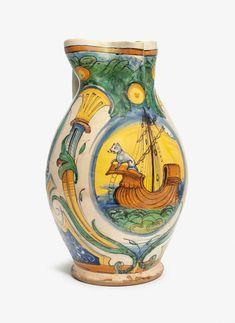 Antique Pottery, Italian Renaissance, Sgraffito, Victoria And Albert Museum, 16th Century, Metropolitan Museum, Ceramic Art, Medieval, Antiques