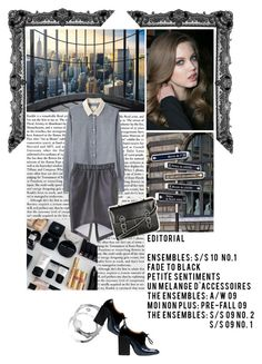 """""""My world."""" by zeljkaa ❤ liked on Polyvore featuring Band of Outsiders, Balenciaga, H&M and Topshop"""