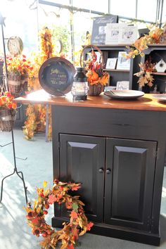 We Love Decorating For Autumn At Our Peaceful Valley Furniture Stores!