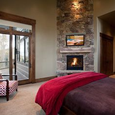 fireplace with tv design ideas | images of bedroom photos corner tv design ideas pictures remodel and ...