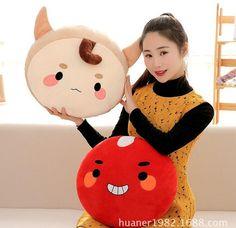 Korea God Alone And Brilliant Goblin Pillow buckwheat cushions Stuffed & Plush Toys Korean TV dolls Cute Ghosts Doll