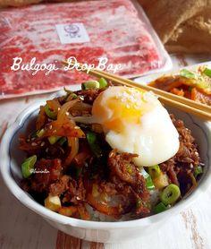 Nasi Goreng, Bulgogi, Rice Bowls, Taste Buds, Salmon, Food And Drink, Cooking Recipes, Menu, Vegetables