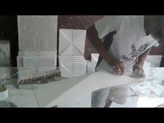 Preparando novos modelos PLACAS DE GESSO 3D - Vem novidades ae!!! - YouTube