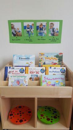 Regeln im Kindergarten für das Bücher ansehen #rules in the nursery school