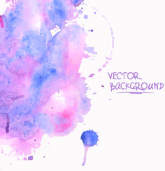 watercolor art background