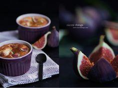 Fig Figs Feigen Dessert Auflauf Violet Purple Plum