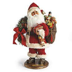 De Santa Figurines - Santa Figuras - Santa Decoraciones - Frontgate