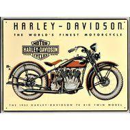 Harley Davidson 74 Big Twin Sign