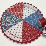 Free Quilt Pattern: Wheel Mug Rug Tutorial