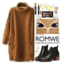 """Romwe"" by oshint ❤ liked on Polyvore featuring Betsey Johnson, NARS Cosmetics, Yves Saint Laurent, BP., awesome, amazing, romwe, fabulous and sweaterdress"