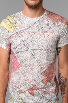 LA Map Tee - I may have just bought this...yeah...