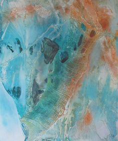 Olivia Alexander - Oceans Deep1- Mixed - Painting entry - March 2015   BoldBrush Painting Competition
