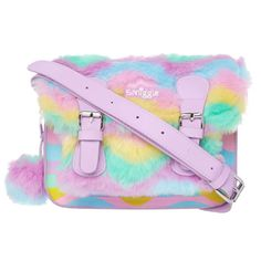 Kawaii bags for every day - fluffy pastel satchel at smiggle School Bags For Kids, Kids Bags, Baby Girl Toys, Toys For Girls, Cute Backpacks, Teen Backpacks, Leather Backpacks, School Backpacks, Leather Bags