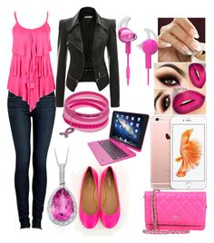 """""""Untitled #32"""" by lpwilliamsjb on Polyvore featuring Paige Denim, Chanel and Tzumi"""