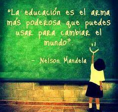 #FrasesParaReflexionar #frasessobrelaeducacion Frases Sobre La Educacion
