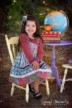 Back to school pic idea for the kiddos!