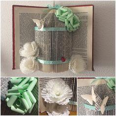 Book Folding gabbietta Shabby